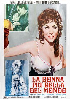 La donna più bella del mondo (Lina Cavalieri), 1955 (Beautiful but Dangerous. 1955)