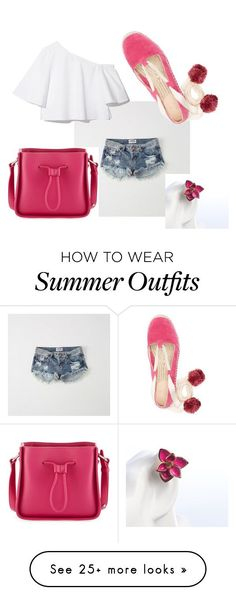 Summer Outfits : Pink by bdalma99 on Polyvore featuring Abercrombie & Fitch and 3.1 Phillip Lim