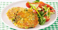 These kid-friendly fritters are full of veggies and can easily be packed into a lunchbox.
