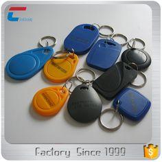 LF 125khz / HF 13.56mhz RFID Proximity Token Tag Key Fob (Blue)