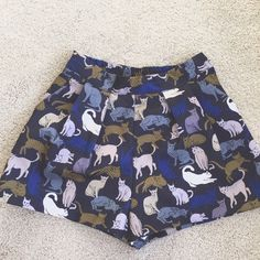 H&M Cat Shorts Worn once. (Pictured above) Great condition. Runs small. Fits like a 2-4. H&M Shorts
