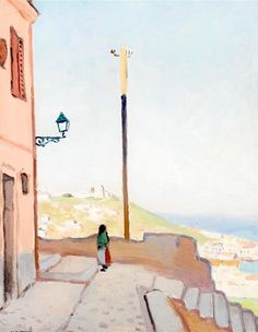 Albert Marquet (French, 1875-1947) - Algerie, For the Casbah, 1920-21