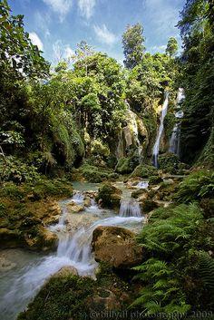 Mag-aso Falls, Negros, Philippines