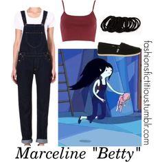 """""""Marceline in """"Betty"""""""" by winterlake25 on Polyvore"""
