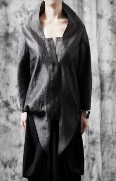 Ofelya Original Design Twilight / Faux Leather Drape by Ofelpan