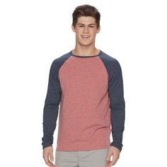 Men's Urban Pipeline® Ultimate Raglan Tee, Size:
