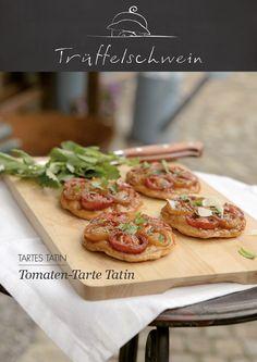 Tomaten-Tarte Tatin mit Zitronenmelisse
