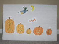 5 Little Pumpkins - Resources
