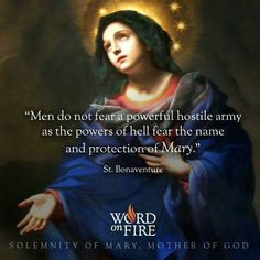 Solemnity of Mary, Mother of God (St. Bonaventure)
