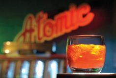 Atomic Liquors finally reveals what's in its Anthony Bourdain tribute #cocktail. Get the #recipe.