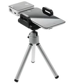 Mini Projector With Tripod For Apple iPhone, iPod Touch, iPad, a great Valentine's gift for him.