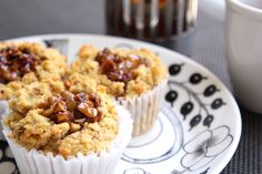 グルテンフリーのおからメープルナッツマフィン。小麦なし、白い砂糖なしのヘルシーマフィン。 Gluten-free Okara maple nut muffin recipe.