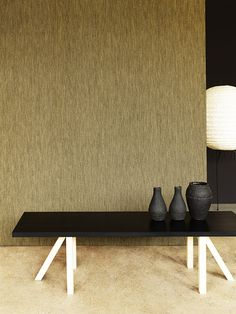 "CHILEWICH GILT BOUCLE WALL TEXTILES | ""GOLDEN GLINT: SURFACE TREND"" 
