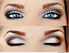 Here are a few makeup tips for blue eyes. The best make up for blue eyes is choosing the perfect shades to enhance the eyes. Try it for a better look.