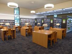 Contemporary Lighting At La Mirada Branch Library