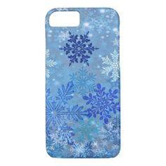 Snowflakes Design iPhone Case