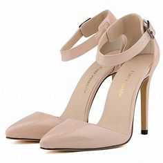 High heel nude shoes from lightinthebox, will need them for Valentines!