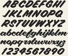 Veteran sign painter Pierre Tardif and lettering artist Charles Borges have teamed up to bring you this pair of fun to use retro fonts. Sign Fonts, Hand Lettering Fonts, Types Of Lettering, Lettering Styles, Handwriting Fonts, Vintage Typography, Script Fonts, Typography Letters, Brush Lettering