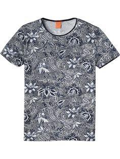 High Crew Neck T-Shirt   T-shirts ss   Men Clothing at Scotch & Soda