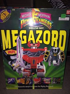 Classic Bandai Mighty Morphin Power Rangers Deluxe Set Megazord Action Figure #Bandai