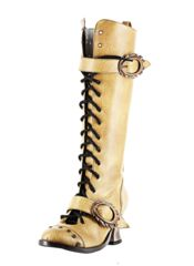 Vintage Mustard Thundra by Metropolis Hades | Steampunk Clothes and Shoes