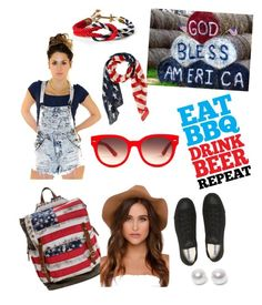 """""""Merica"""" by daniellewada ❤ liked on Polyvore featuring Torrid, Converse, Equipment, Nouv-Elle, women's clothing, women, female, woman, misses and juniors"""