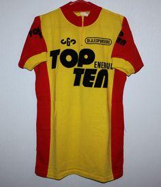 Vintage Top Energie Ten cycling jersey Size 3 80 s in Sports Memorabilia 7adba9848