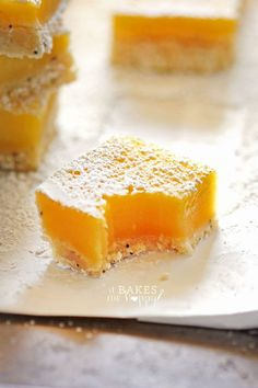 You're going to love these bright, fresh lemon bars made with a delicious poppy seed crust.