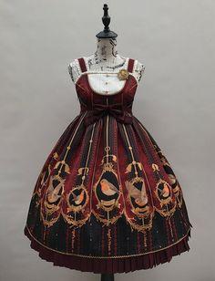 Angel's Heart -Robin- Lolita High Waist Jumper Dress
