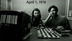 Apple was created on April Fools' Day!