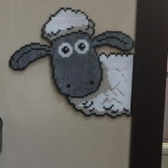 Shaun the Sheep perler beads by pekopoko3912                                                                                                                                                                                 More