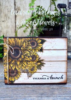 Sunflower Cards, Paper Cards, Paper Boxes, Scrapbook Cards, Scrapbooking, Creative Cards, Greeting Cards Handmade, Stampin Up Cards, Your Cards