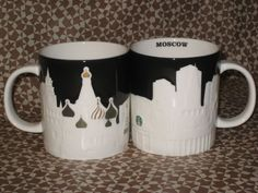 Starbucks Moscow Relief Series MUG 16oz Brand New RUSSIA #new