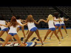 Thunder GIrls: NBA Cheerleaders - http://nbajerseygirls.com/thunder-girls-nba-cheerleaders/