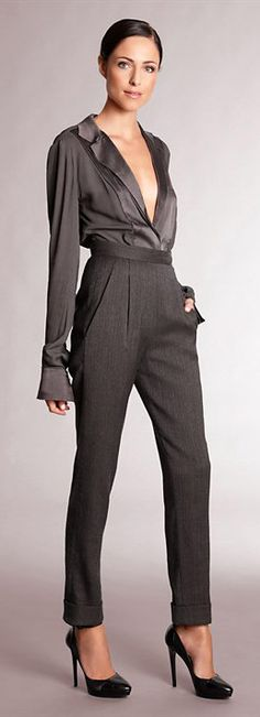 ✚ Donna Karan Fall 2012 ✚ http://www.donnakaran.com/collections/fall-2012/collection/ ✚ More on Fashion Black, Style Trends & My Style