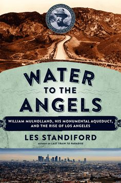 Les Standiford, author of Water to the Angels, at warwick's on Tuesday April 21, 2015. I'll drink to that.