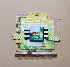 Love you layout by neroliskye on the Studio Calico Gallery!!