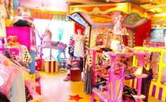 "6% Dokidoki is a shop in tokyo that aims for a colorful experience, cant get more ""kawaii"". - Transport Harajuku Station (Yamanote line), Meiji-Jingumae Station (Fukutoshin, Chiyoda lines)"