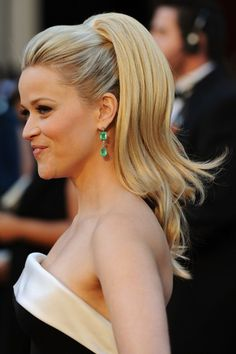 Reese Witherspoon's hair at the Oscars