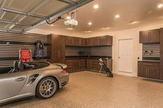 Dream Garage 😍. #EpoxyFlooring #DecorativeConcrete #EpoxyFloor #Garage…