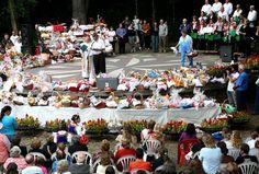 Benção dos alimentos no Memorial da Imigração Polonesa, Bosque do Papa. Foto: Lucilia Guimarães/FCC