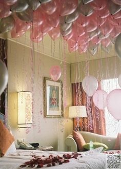 21. #Decorate His House - Top 21 Most Romantic #Birthday Gifts for Your Man! ... → Love #Romantic