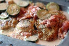 Poulet aux courgettes et boursin au cookeo, voila une si délicieuse recette facile à cuisiner avec votre cookeo pour votre plat principal.