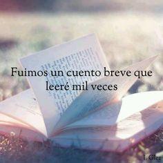 Nunca te olvidare :)