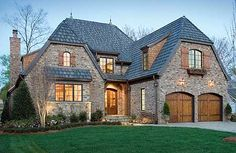 Plan W17503LV: European, Photo Gallery, Luxury, Premium Collection, Tudor House Plans & Home Designs