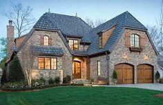 Plan W17503LV: European, Photo Gallery, Luxury, Premium Collection, Tudor House Plans & Home Designs