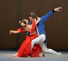 Lauren Cuthbertson and Matthew Ball in Marguerite and Armand. © Dave Morgan, courtesy the Royal Opera House.