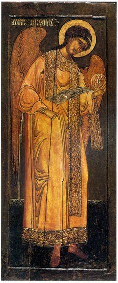 древние иконы - Поиск в Google Byzantine Icons, Byzantine Art, Religious Icons, Religious Art, Angel Images, Russian Icons, Religious Paintings, Art Corner, Archangel Michael