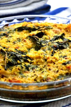 Quinoa Spinach Bake from TheHealthyApple.com