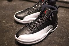 New pics of the Air Jordan XII Playoffs! #sneakers